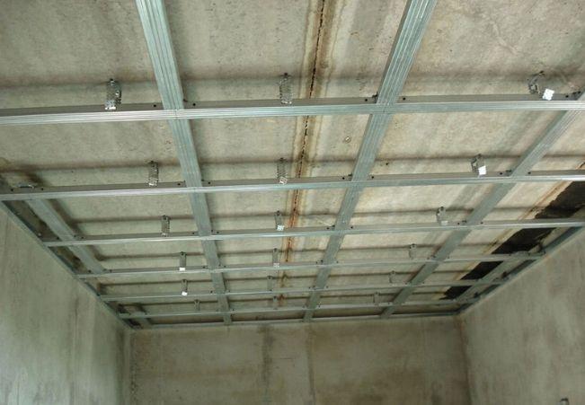 Расчет гипсокартона на потолок
