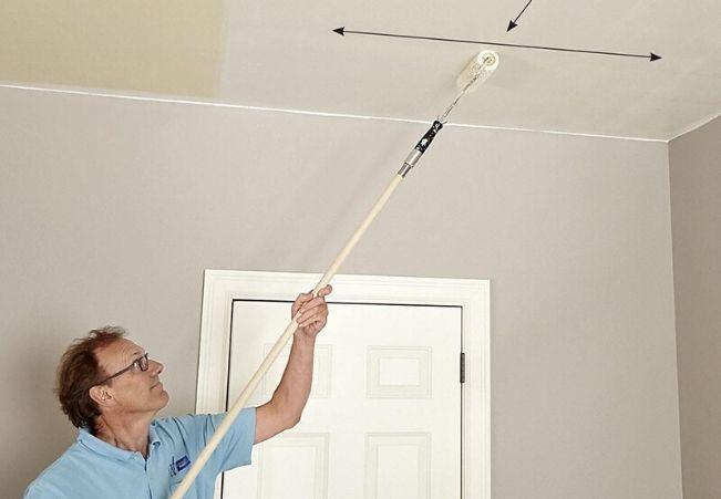 расчет краски для стен и потолка