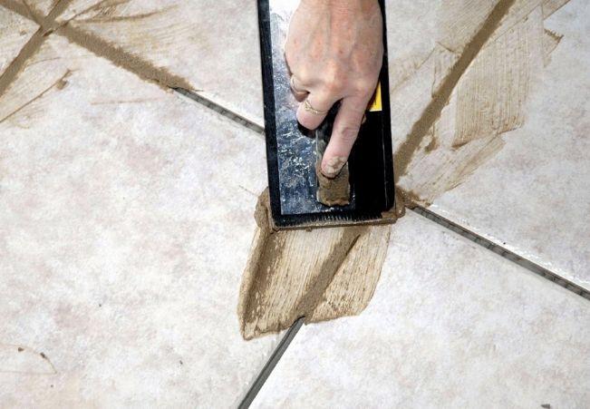 Расход плиточной затирки на цементной основе
