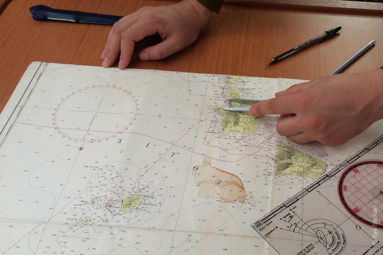 Единица длины - морская миля
